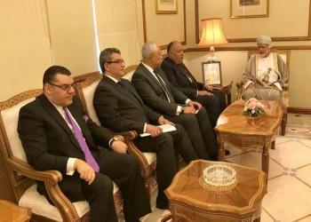 بن علوي يستقبل شكري على هامش اجتماعات اللجنة المشتركة