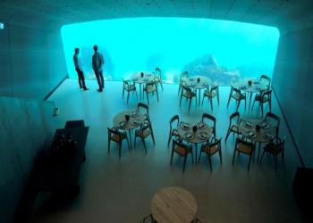 افتتاح أول مطعم أوروبي تحت الماء في النرويج