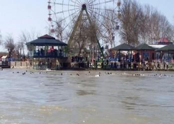 العراق.. غرق العشرات في انقلاب عبارة بنهر دجلة
