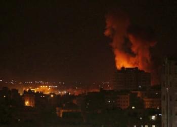 إصابة 7 فلسطينيين في غارة لطائرات إسرائيلية جنوب غزة