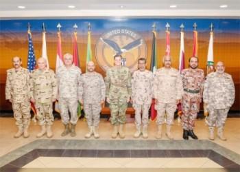 رؤساء الأركان بالخليج ومصر والأردن وأمريكا يبحثون محاربة الإرهاب