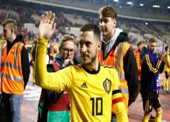 هازارد: أصبحت أسطورة في بلجيكا بسبب البرجر