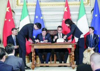 """إيطاليا أول دولة بالسبع الصناعية الكبرى تنضم لـ""""طريق الحرير"""""""