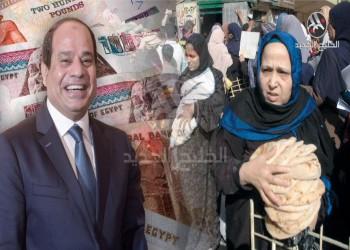 السيسي يفشل في تغطية مصروفات مشروعاته عبر الضرائب