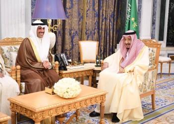 العاهل السعودي يستقبل رئيس مجلس الأمة الكويتي بالرياض