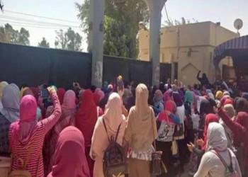 مظاهرات غاضبة لطالبات الأزهر احتجاجا على اغتصاب زميلتهن