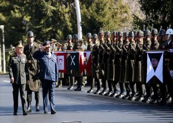 رئيس الأركان التركي يستقبل نظيره القطري بأنقرة