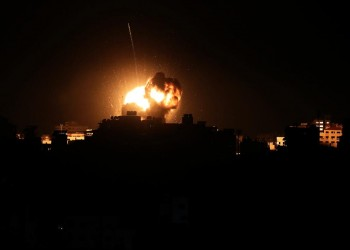 إسرائيل تستهدف مكتب إسماعيل هنية في غزة (صور)