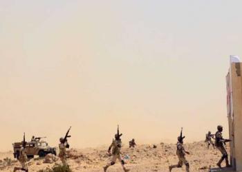قوات مصرية وبريطانية تنفذ تدريبا للقضاء على بؤرة إرهابية
