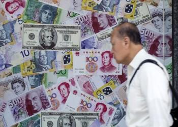 ربط أسعار العملات بالدولار