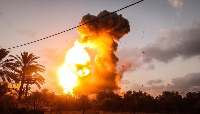 إصابات جراء تجدد القصف الإسرائيلي على غزة
