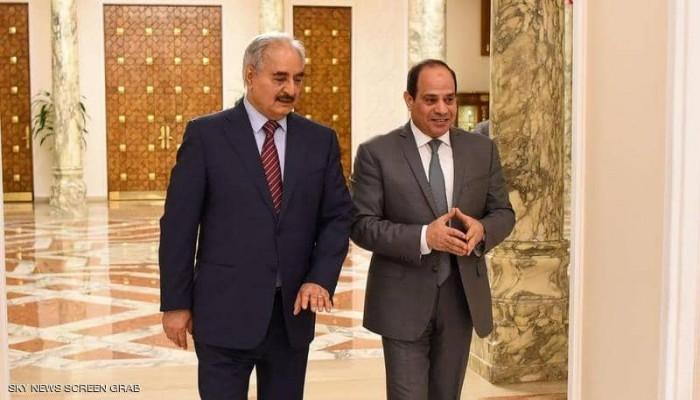 مصادر: خطة مصرية إماراتية سعودية لكسر عزلة حفتر