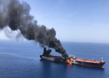 رصد عبوة لم تنفجر ملتصقة بإحدى ناقلتي النفط في خليج عمان