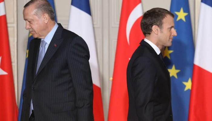ماكرون يطالب تركيا بوقف أنشطتها قبالة سواحل قبرص