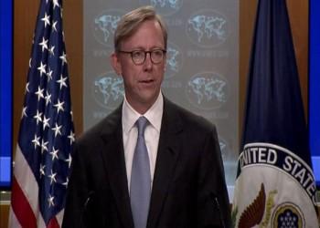 المبعوث الأمريكي يبحث بالكويت سبل خفض التصعيد مع إيران