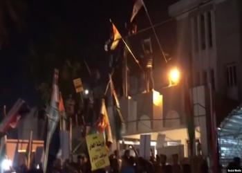 البحرين تستدعي سفيرها بالعراق إثر اقتحام مبنى السفارة