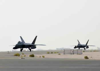 أمريكا تنشر مقاتلات إف-22 في قاعدة العديد بقطر