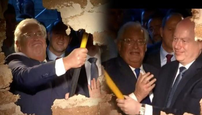 هآرتس: مطرقة فريدمان وغرينبلات بنفق القدس حطمت نزاهة واشنطن