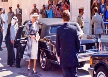 فستان الأميرة ديانا خلال زيارتها للبحرين بـ134 ألف دولار