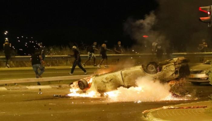 يهود الفلاشا يقطعون طرقا بإسرائيل ويهتفون: فلسطين حرة