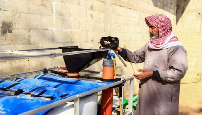 غزة.. غاز طهي من بقايا الطعام وروث الحيوانات