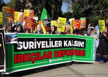 أتراك وعرب ينظمون وقفة بإسطنبول تضامنا مع السوريين