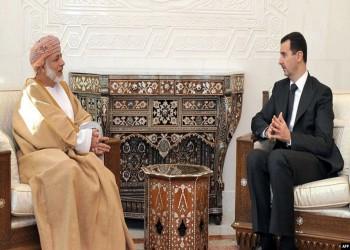 الأسد يستقبل بن علوي في دمشق