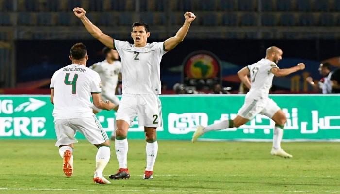 الجزائر تقسو على غينيا وتتأهل لربع نهائي كان 2019
