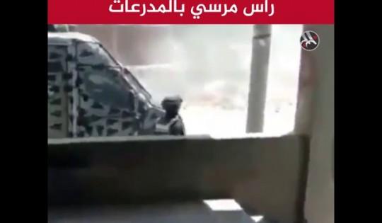 الأمن يقتحم مسقط رأس مرسي بالمدرعات