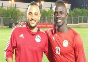 حارس مصري في تدريبات منتخب السنغال.. لماذا؟
