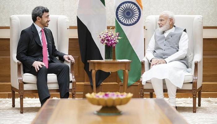 الإمارات والهند يبحثان تعزيز التعاون والتطورات الإقليمية
