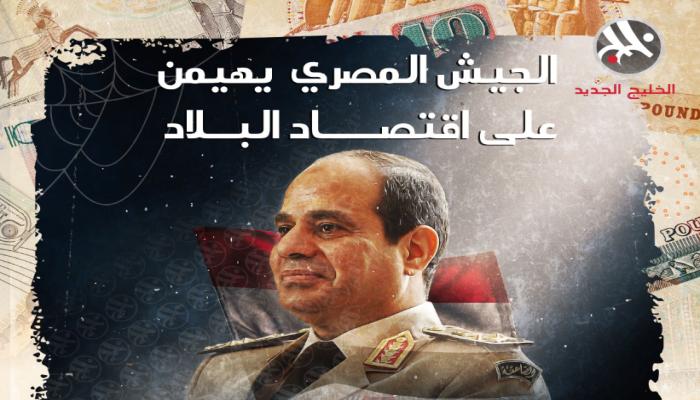 بعد دابسي.. شركات الجيش تهيمن على اقتصاد مصر (انفوجراف)