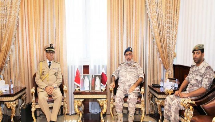 قطر والمغرب يناقشان سبل تعزيز علاقاتهما العسكرية