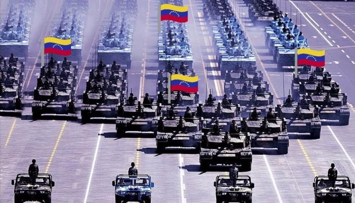 معدات عسكرية روسية تشارك في مناورات فنزويلا