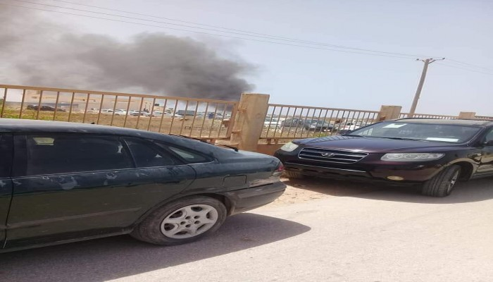 قتلى وجرحى في تفجير استهدف قيادات بقوات حفتر ببنغازي (صور)