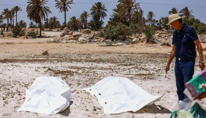 ارتفاع قتلى قارب المهاجرين قبالة تونس إلى 58