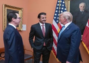 أمير قطر يغادر واشنطن ويشيد بالزيارة: شكلت حدثا هاما