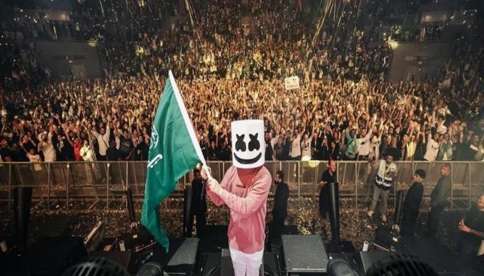 مارشملو.. أشهر DJ بالعالم يشعل حفلا في السعودية