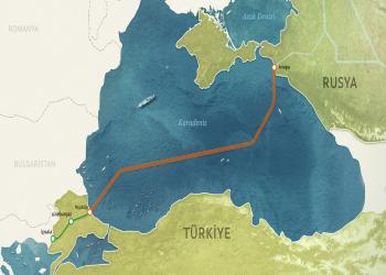 غازبروم الروسية: تم إنجاز 90% من السيل التركي