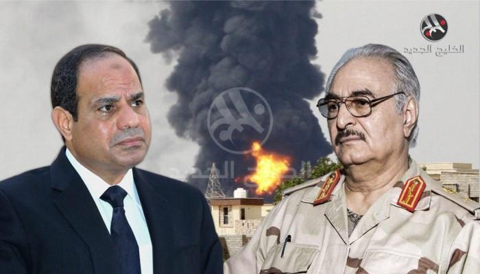 مصر تحاول إنقاذ حفتر بعد فشل معركة طرابلس
