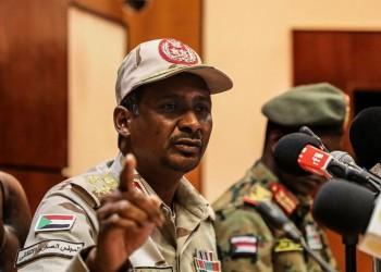 خلافات خليجية مصرية حول دور حميدتي في السودان