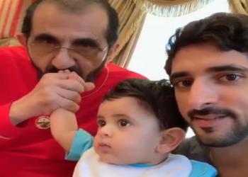 فيديو.. أول ظهور عائلي لحاكم دبي بعد هروب زوجته