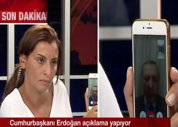 أردوغان يخلد هاتف المذيعة هانده فيرات.. شارك في دحر المحاولة الانقلابية