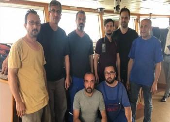 8 من طاقم السفينة التركية التي تعرضت لهجوم بنيجيريا في أمان