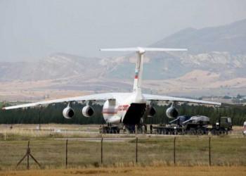 الطائرة الـ14 من معدات إس-400 تصل أنقرة