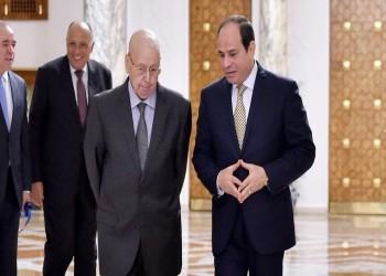 السيسي والرئيس الجزائري المؤقت يبحثان العلاقات الثنائية
