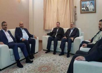 """وفد من حماس في زيارة """"مهمة جدا"""" لطهران"""