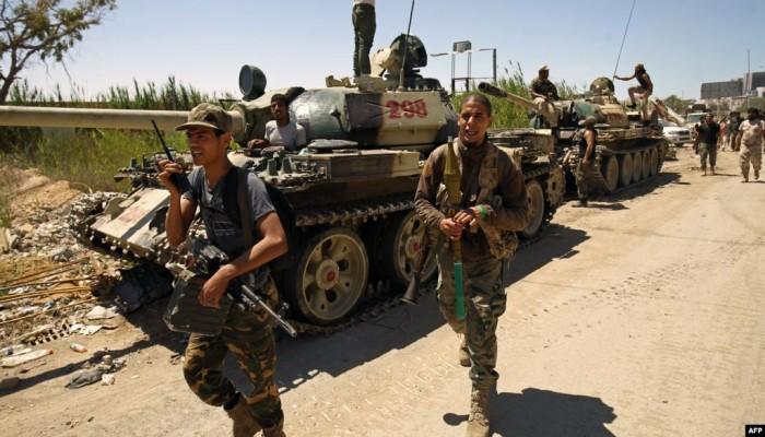 قوات حفتر توجه رسالة لأهالي طرابلس استعدادا لهجوم واسع
