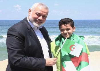 هنية يحتفى بمنتخب الجزائر وهتافه لفلسطين