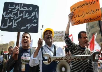 السلطات المصرية تعتقل 4 عمال لاعتراضهم على غلاء المعيشة